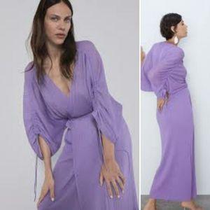 NWT Zara Wrap Dress